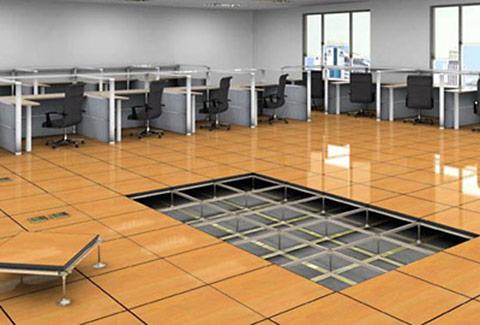 sàn nâng ký thuật cho văn phòng