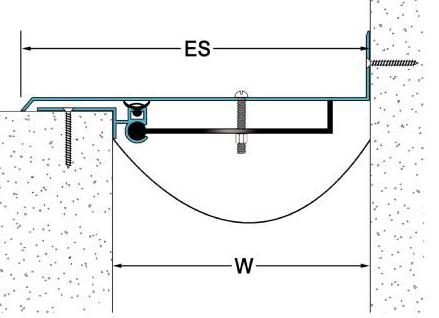 Một mẫu khác bản vẽ chi tiết của khe co giãn tường ngoài tiếp giáp với sàn